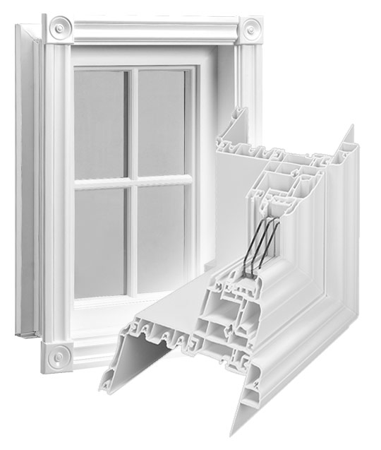 Low-Profile Fixed Windows
